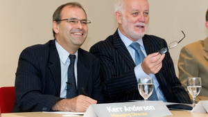 Ormonde Mining's Kerr Anderson and chairman Mike Donoghue