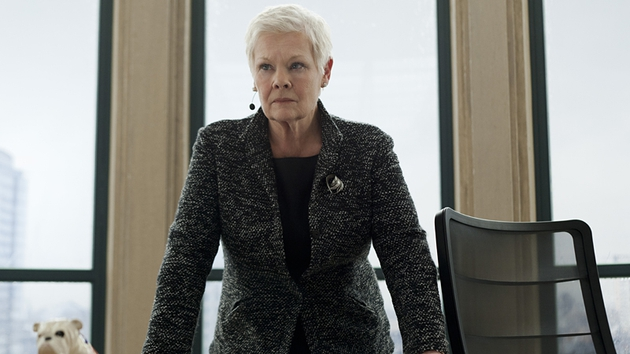 Judi Dench's M is right at the centre of the story here