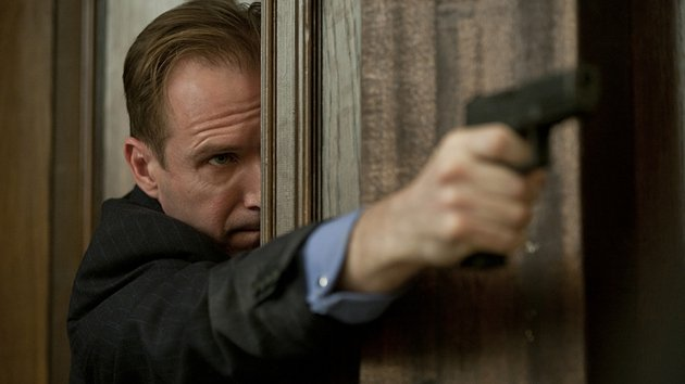 Ralph Fiennes brings gravitas to his role as bureaucrat with backbone Mallory