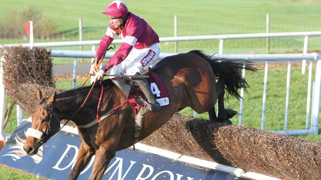 Davy Russell partnered Quito De La Roque to victory last year