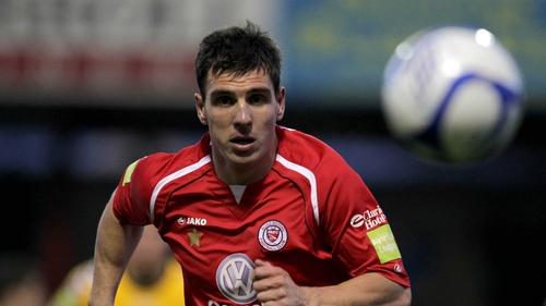 Gavin Peers could return to the Sligo starting XI tonight