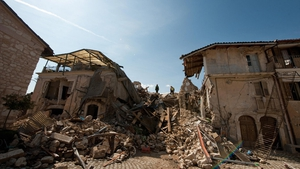 A magnitude 6.3 earthquake struck L'Aquila in April 2009