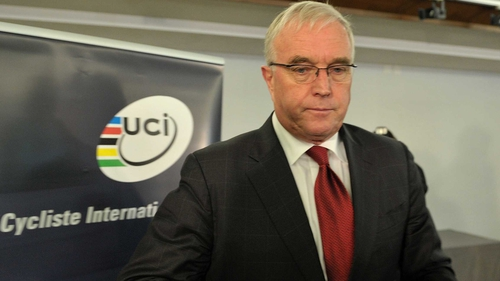 Pat McQuaid has stepped down from the panel assessing host cities for the 2020 Olympics