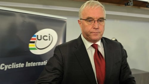 Pat McQuaid has been UCI president since 2005
