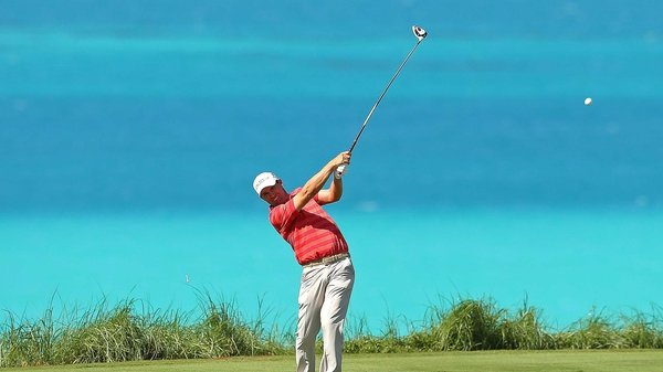 Padraig Harrington is back on form in Bermuda
