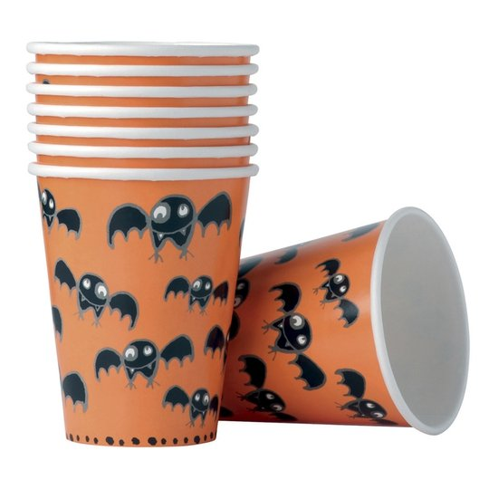 Marks and Spencer paper cups (8), €2. Select Halloween items included in 3 for 2 promotion online