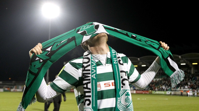 Gary Twigg had an emotional send-off at Tallaght Stadium last week