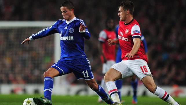 Arsenal and Schalke meet again tonight in the Champions League