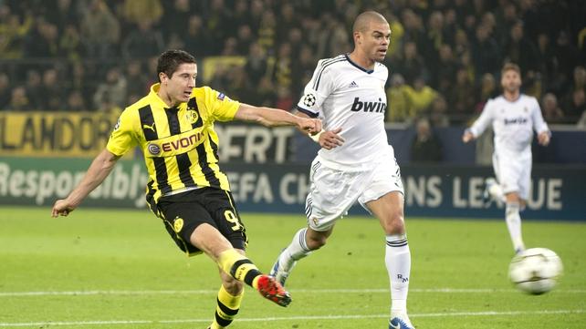 Borussia Dortmund are keen to keep Lewandowski after losing Mario Gotze to Bayern Munich