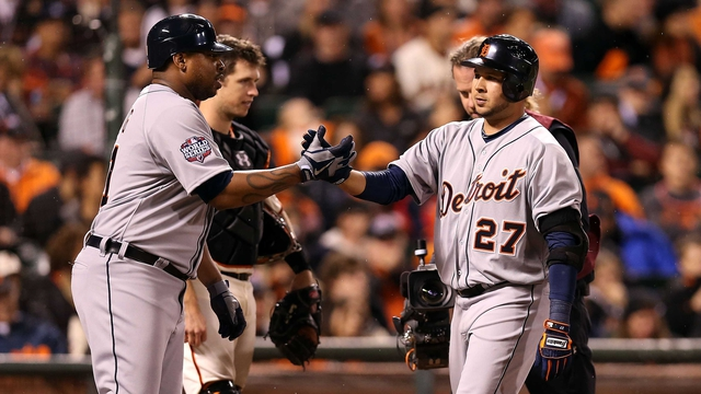 Jhonny Peralta and Delmon Young