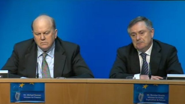 Ministers Howlin and Noonan says country has drawn down 80% of programme funding