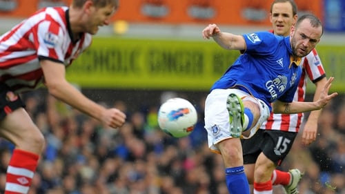Free agent McFadden spent six months at Everton last season after being released by Birmingham