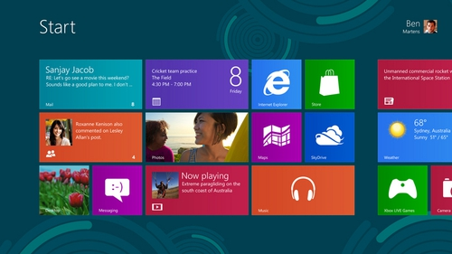 The new user interface on Window 8.1 will be made somewhat more palatable when full version is available