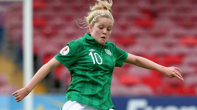 Denise O'Sullivan was on target for Ire