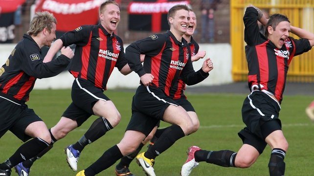 Crusaders won last year's competition after beating Derry City in the final