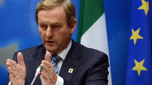 Enda Kenny has responded to comments from Germany