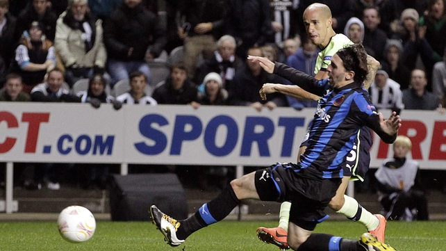 Gabriel Obertan's goal proved crucial to a much-changed Newcastle side at St James' Park