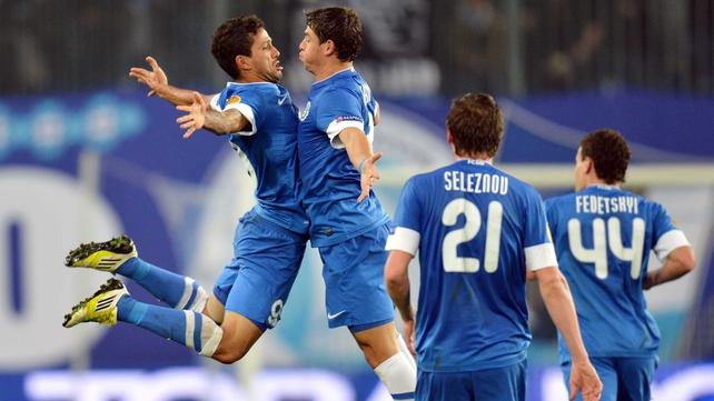 Dnipro were 3-1 winners over Napoli in Ukraine
