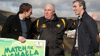 Brendan Wright reports on the Match for Michaela between Donegal and Ulster in aid of the Michaela Foundation