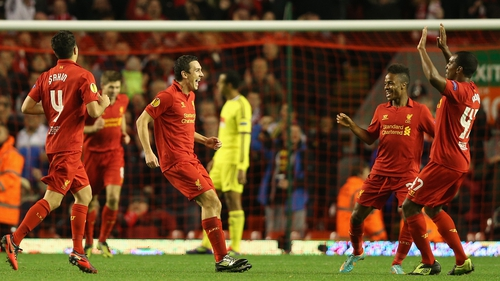 Downing scored the winner in the 53rd minute