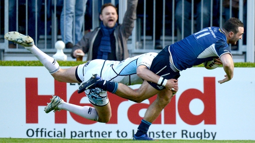 Dave Kearney has overcome his hip injury in time to face Cardiff