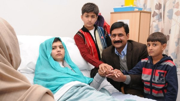 Malala Yousafzai is being recognised for her courage, determination and perseverance