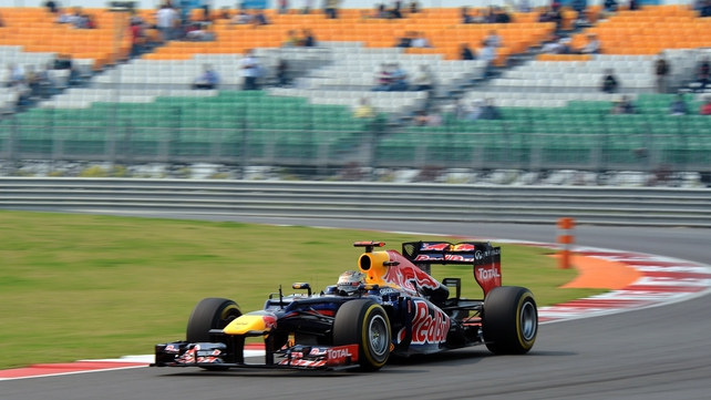 Vettel looks to extend his lead in the drivers' championship with another victory in India