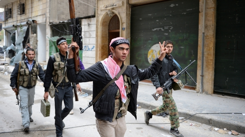 Rebels have clashed with government forces in several cities, including Aleppo and Hama