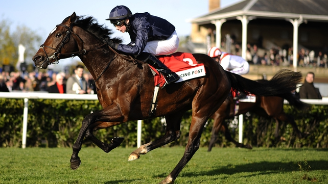 Kingsbarn and Joseph O'Brien winning the Racing Post Trophy at Doncaster last term