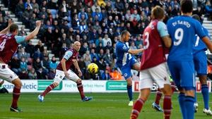 Ivan Ramis' goal sent Wigan on their way to victory