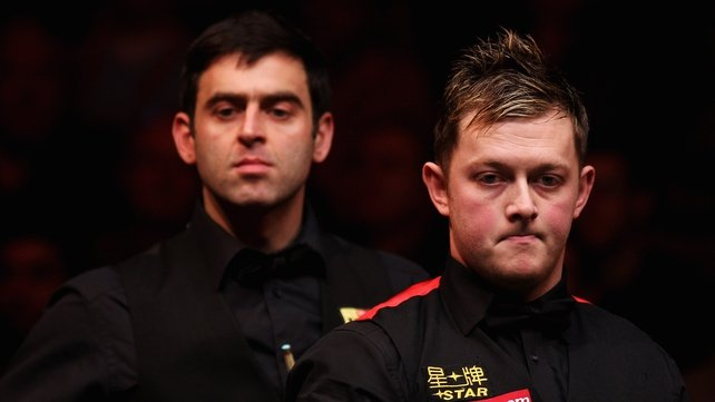 Mark Allen and Ronnie O'Sullivan may share a few unpleasant words following the former's latest Twitter outburst