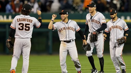 The San Francisco Giants are closing on victory in the World Series