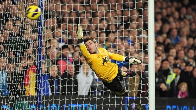 David De Gea couldn't get near Mata's sublime free-kick