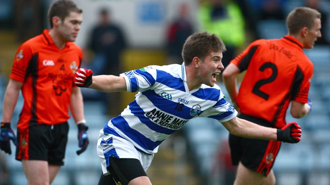 Shane Nolan drove home the only goal of the game that saw Castlehaven emerge victorious in Cork
