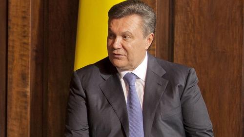 Ukrainian President Viktor Yanukovych earlier denied that he planned to resign