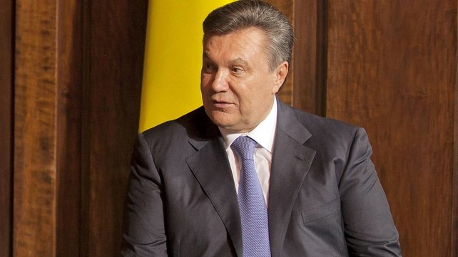 Popping in on Putin: Ukrainian President Viktor Yanukovich meeting Russian leader on way home from China says report