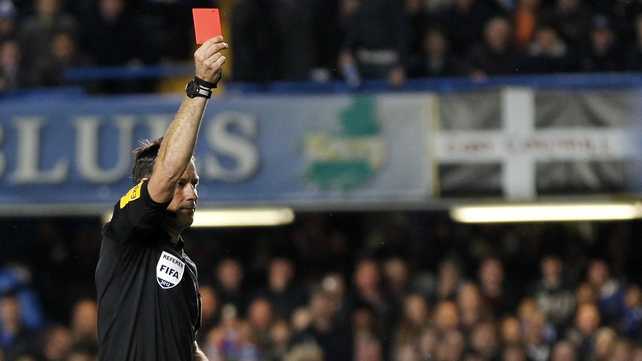 Mark Clattenburg is waiting to see if the police will look into John Obi Mikel and Juan Mata's complaints