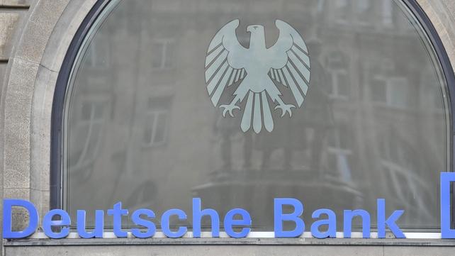 Deutsche Bank's Q4 revenues up but profits slump