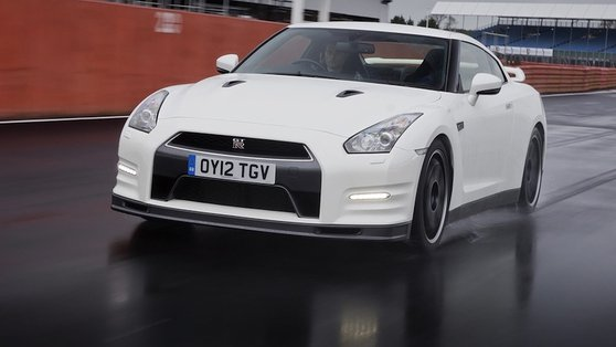 The Nissan GT-R's brain works out what the driver wants to do