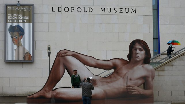 A museum spokesman said a thousand visitors a day were coming to see the exhibition