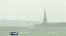 Up to 30 reported dead after superstorm Sandy
