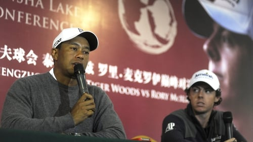 Woods and McIlroy have decided not to stay on in China