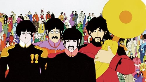 The Beatles as depicted in the animation movie Yellow Submarine