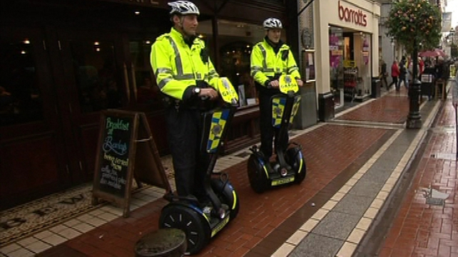 Assistant Garda Commissioner John Twomey said the Segways give officers a better view on patrol