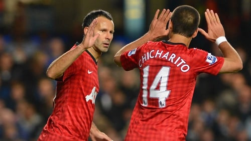 Ryan Giggs put United ahead after three minutes against Fulham