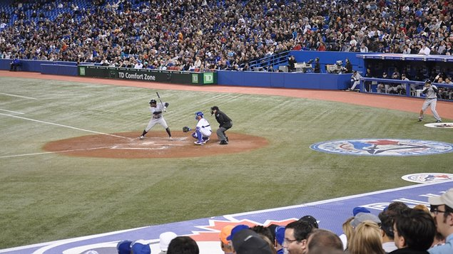 The Blue Jays versus The Yankees