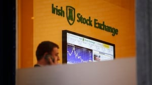 The ISEQ closed down 3.83% at 5,957
