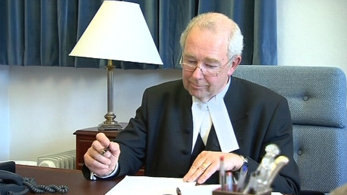 Justice Nicholas Kearns said awards here were a 'stark multiple' of that in other countries