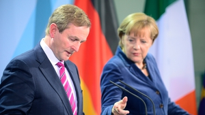 Angela Merkel reaffirmed Ireland's special case status