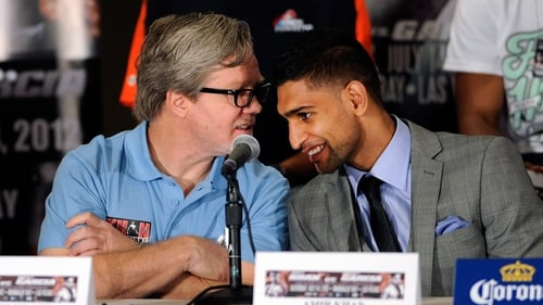 Amir Khan has stated that his split from coach Freddie Roach had nothing to do with the latter's Parkinson's disease